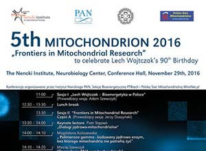 5th Mitochondrion 2016